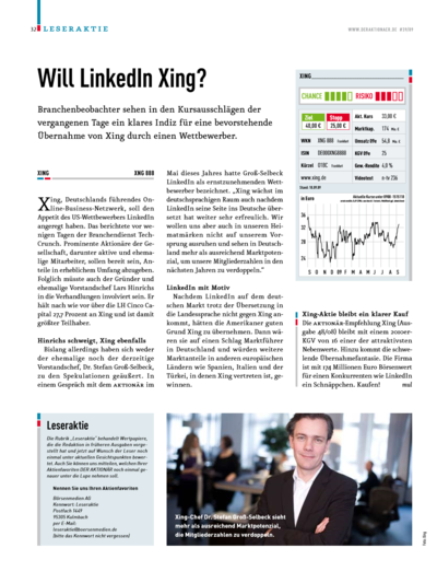 Will Linkedln Xing?