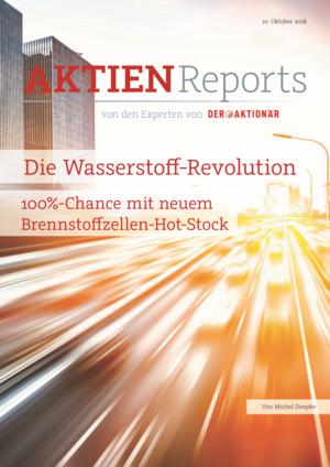 """Aktienreports - Die Wasserstoff-Revolution – 100%-Chance mit neuem Brennstoffzellen-Hot-Stock"""""""