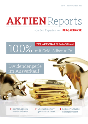 Aktien-Reports - 100 Prozent mit Gold, Silber & Co
