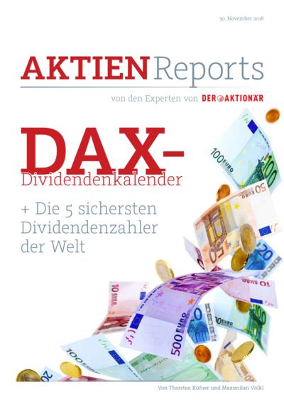 Der große DAX-Dividendenkalender + die 5 sichersten Dividendenzahler der Welt